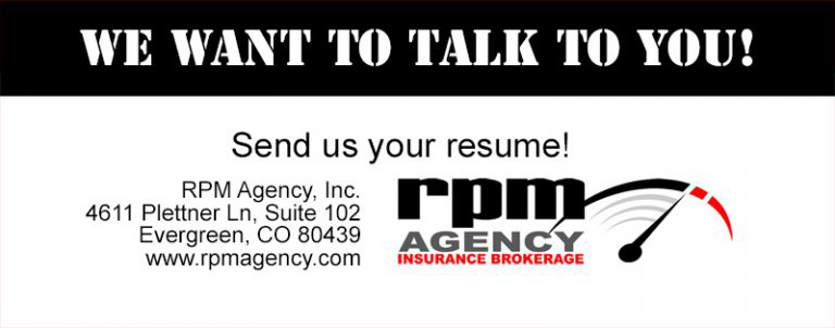 We Want to Talk to You - send us your resume